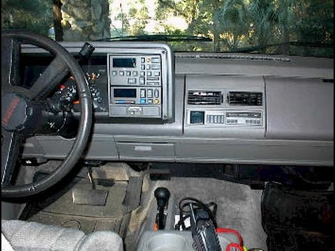 gm stereo wiring diagram radio for 1999 chevy silverado chevrolet and gmc troubleshooting - car help 1988 1994 youtube