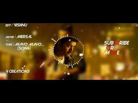 Vijay New Song : Mersal : MAYON MAYON    VIJAY , ATLEE   