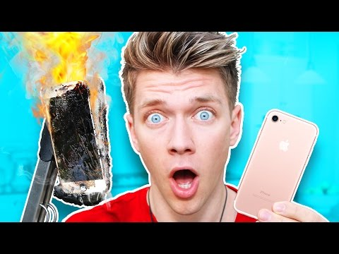Do NOT Boil iPhone 7 in Coca Cola!!!