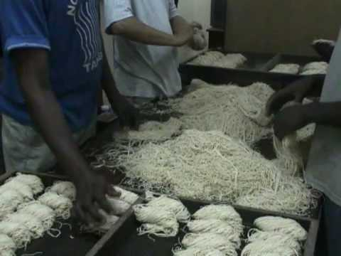 Making Noodles in Zanzibar