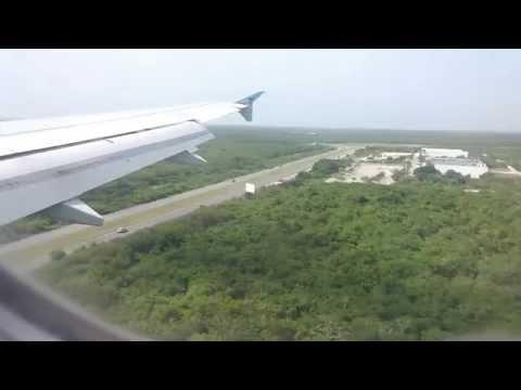 Landing at Punta Cana International Airport