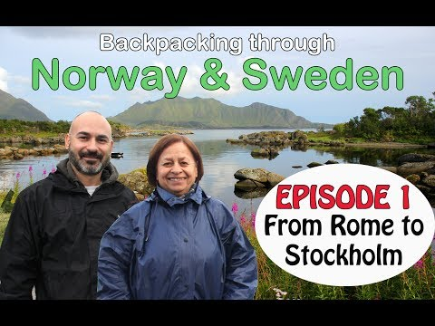 Backpacking in Norway & Sweden – Episode 1: Exploring underground Stockholm