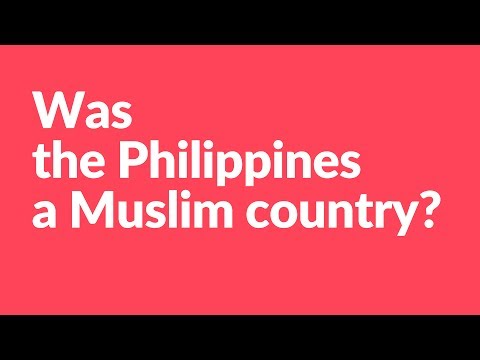 Was the Philippines a Muslim country? (#AskKirby)