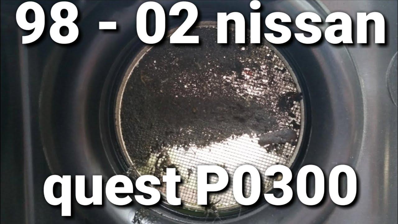 medium resolution of p0300 1998 02 nissan quest