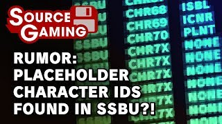 RUMOR: Placeholder Character IDs in Smash Ultimate?!?