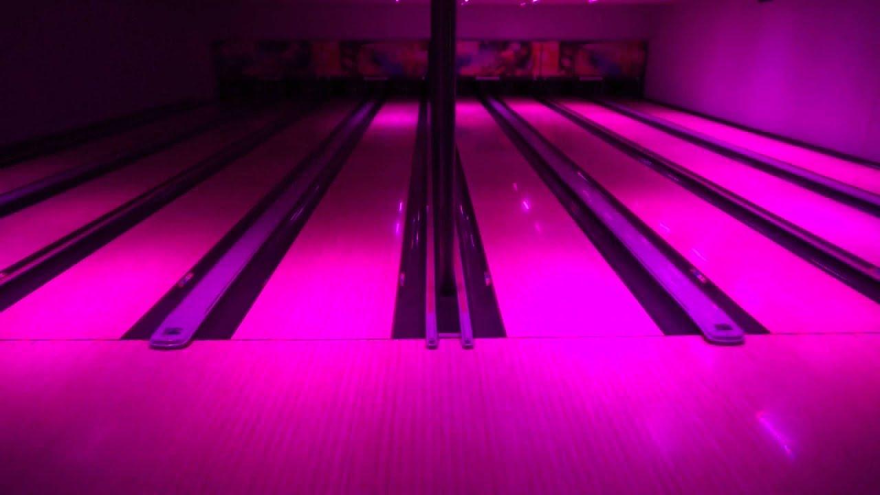 Madrix Neo Rgb Led Reflection On Bowling Lanes Led