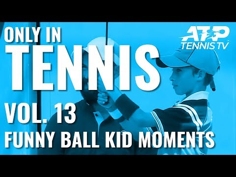 Tennis Ball Kid Funny Moments & Fails: ONLY IN TENNIS Vol. 13