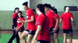 """ГК """"Гомель"""". Женская команда. Тренировка от 25.08.2016."""