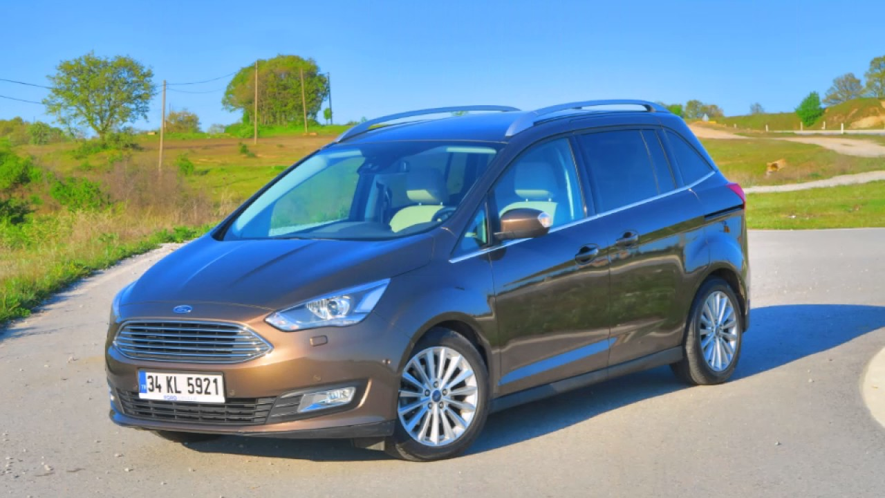 Ford Grand C Max 1 5 Ecoboost 182 Hp Test Hizlanma Fren Youtube