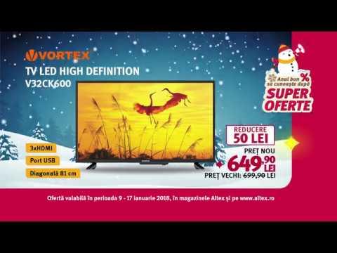 Reclamă - Altex - TV Vortex - ianuarie 2018