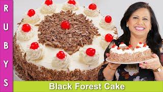 Black Forest Cake Recipe in Urdu Hindi - RKK