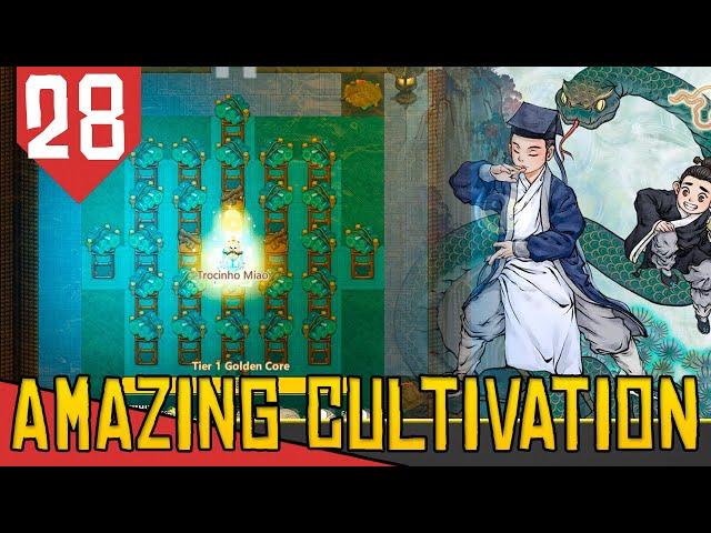 T1 GOLDEN CORE em CINCO DIAS! - Amazing Cultivation Simulator Immortal #28 [Série Gameplay PT-BR]