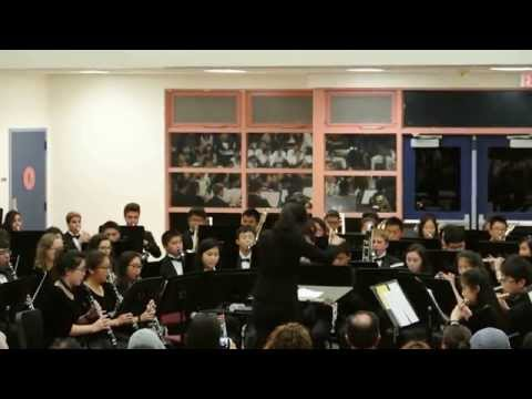 DBHS Wind Ensemble performing at South Point middle school 11-02-2015