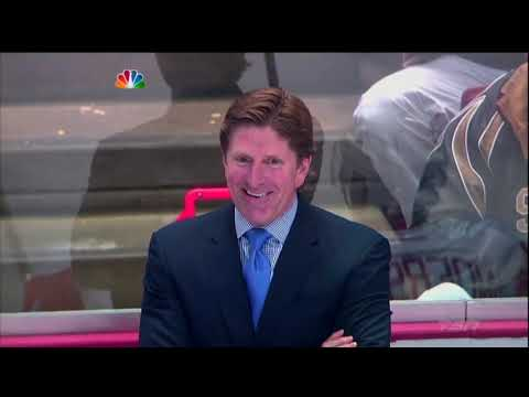 NHL Coaches laughing