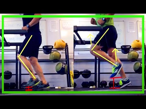 Running Analysis of Heel Strike vs Forefoot Strike Technique [Ep64]