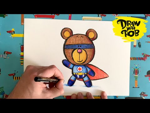 #drawwithrob-15-superhero-bear