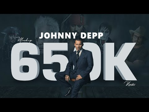 Tribute to Johnny Depp | Legendary actor | Mashup | BGM | Drop art