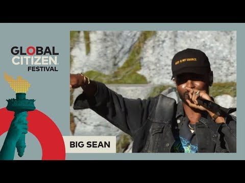 Big Sean Performs 'Feels' | Global Citizen Festival NYC 2017