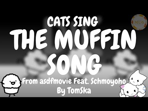 Cats Sing The Muffin Song from asdfmovie feat. Schmoyoho by TomSka | Cats Singing Song