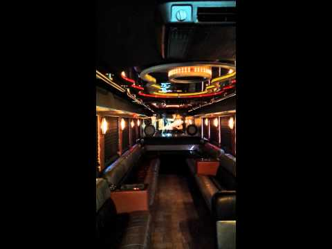 Super Limo Party Bus Clean Ride Limo