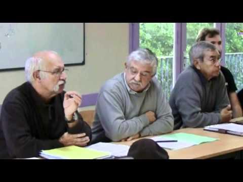 Conférence de presse du CADE et des associations opposées à la LGV