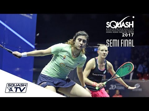 Squash: Hong Kong Open 2017 - El Sherbini v Massaro - Women's SF Roundup