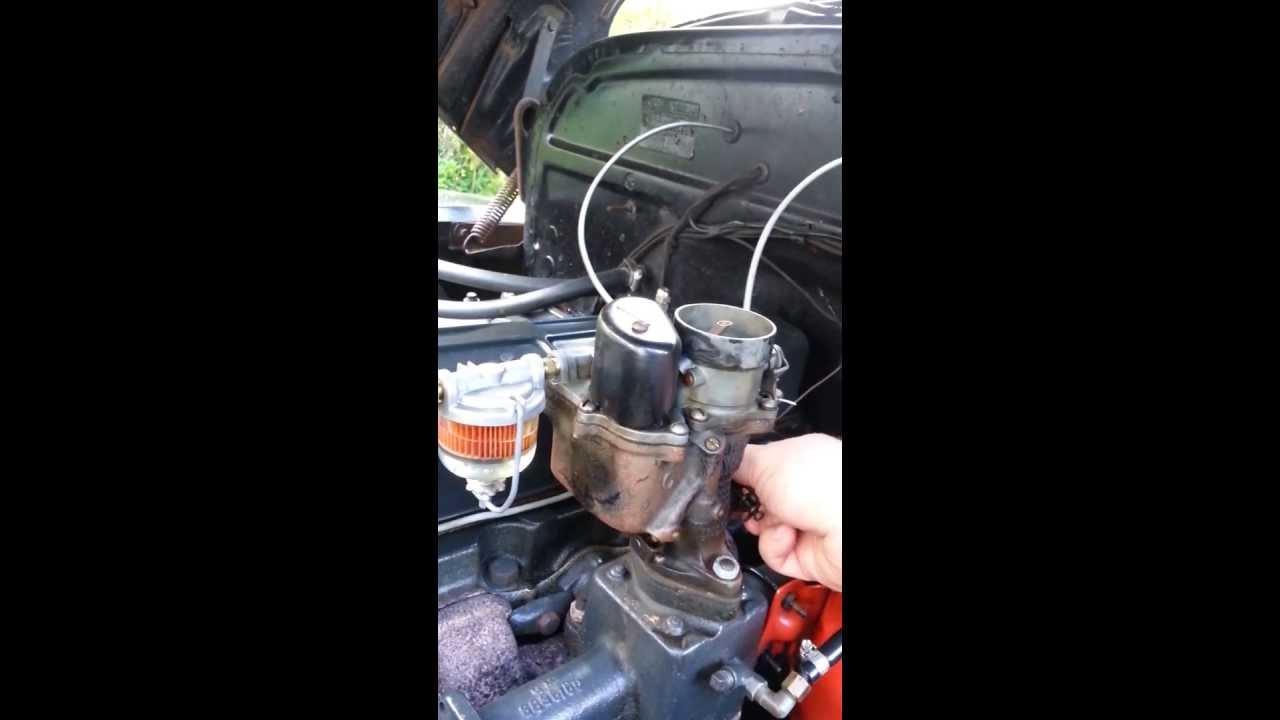 Poor Idle :Chevy 216