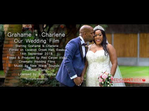 Orsett Hall Wedding Film - Charlene & Grahame