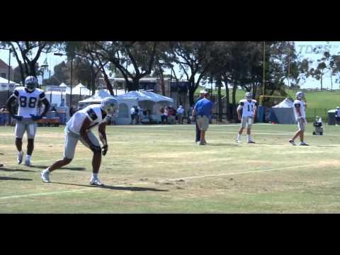 Dallas Cowboys Wide Receiver drills 8/9/12