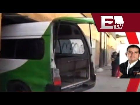 Impresionante accidente de auto en Zaragoza; se mete a una casa / Titulares con Vianey Esquinca