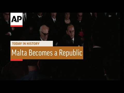 Malta Becomes a Republic - 1974 | Today In History | 13 Dec 17
