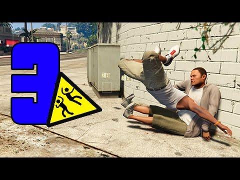 GTA SUPER Epic Fails 3 | CAIDAS CONTRA PERSONAS | Capitulo 3