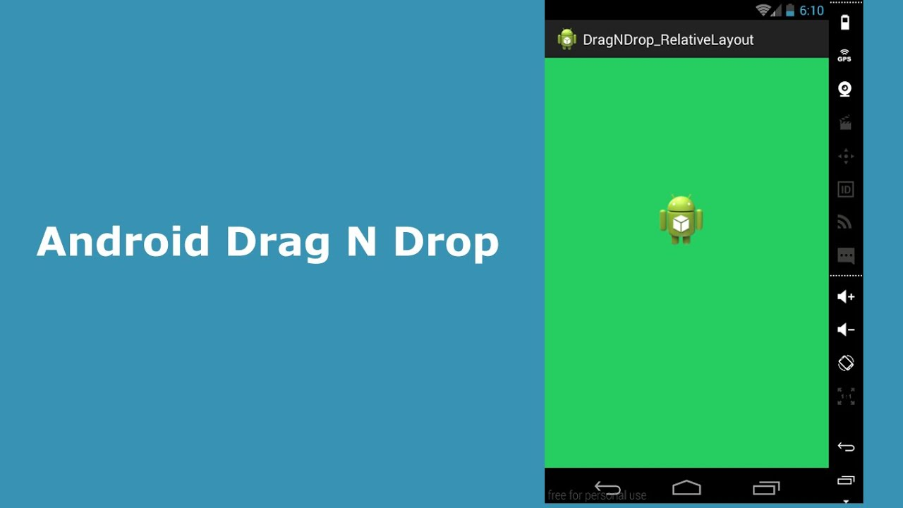 Android Drag and Drop
