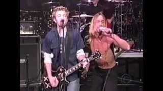 Iggy Pop and Sum 41 - Little Know It All - Live on Letterman