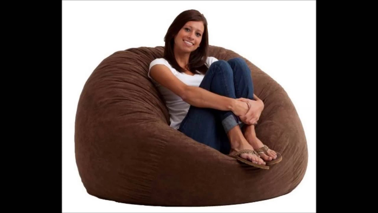 Best 4 Foot Bean Bag Chair Large Fuf   YouTube