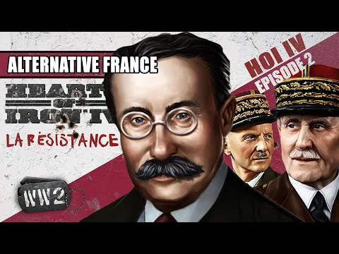 A French Civil War in 1937? - WW2 feat. Hearts of Iron IV [sponsored]