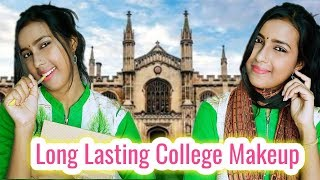 Long Lasting Sweatproof College Girl Makeup Look || Dance and Care