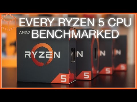 AMD Ryzen 5 1600X, 1600, 1500X, and 1400 Review - Bad news for Intel!