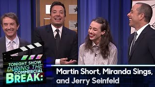 During Commercial Break: Martin Short, Jerry Seinfeld and Miranda Sings
