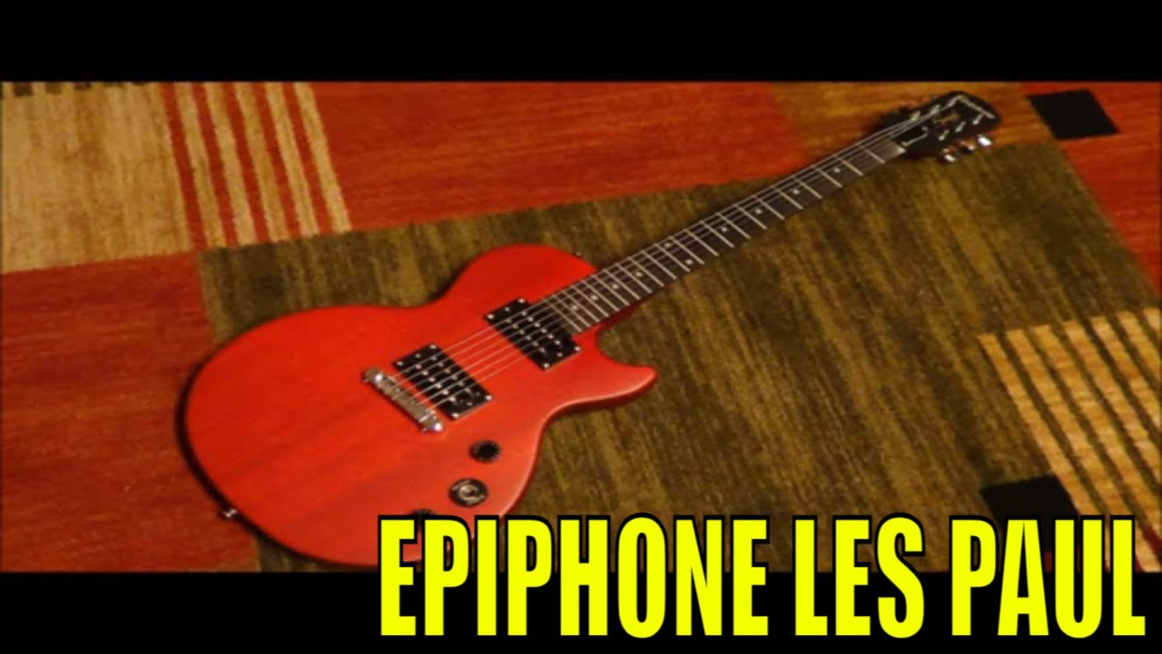 epiphone les paul limited edition special i full review tone test youtube. Black Bedroom Furniture Sets. Home Design Ideas