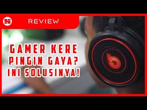 HEADPHONE GAMING UNTUK ORANG KERE! // Review DbE GM100