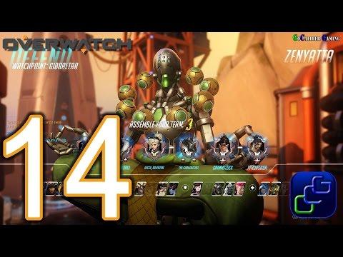 Overwatch PS4 Gameplay - Part 14 - Competitive Match: Zenyatta on Watchpoint Gibraltar