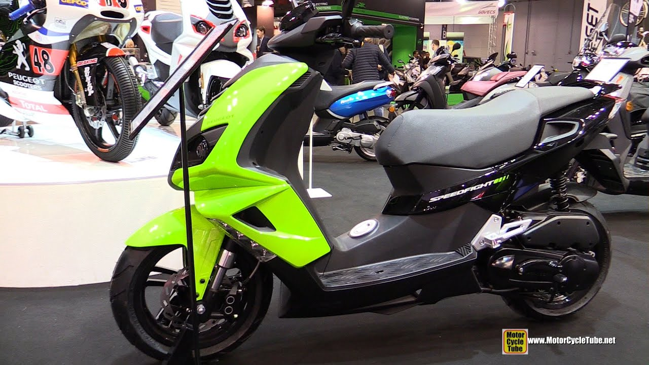 2015 peugeot speedfight 4 50 scooter walkaround 2014 eicma milan motorcycle exhibition youtube. Black Bedroom Furniture Sets. Home Design Ideas