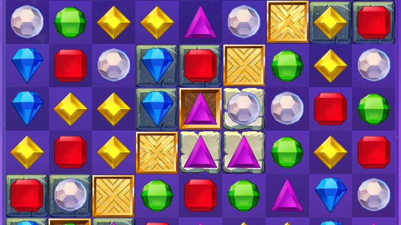 Bejeweled Stars: Introduction with Chamber and complete a level without  using moves