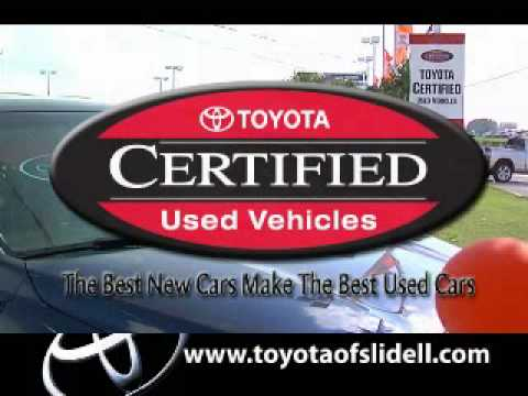 Toyota Of Slidell Toyota Certified Used Cars 70461