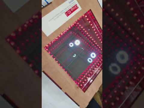 230 Project 2018 - Moving RGB LED Infinity Mirror