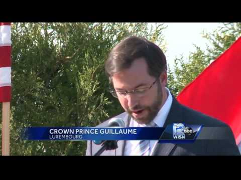 Luxembourg royals visit Wisconsin