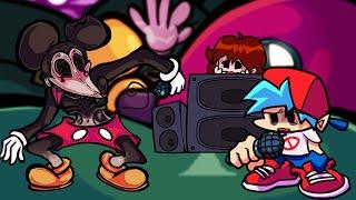 ESTE SÍ es el MICKEY MOUSE MÁS SINIESTRO - Friday Night Funkin VS Mickey Mouse [Full Week] FNF Mods