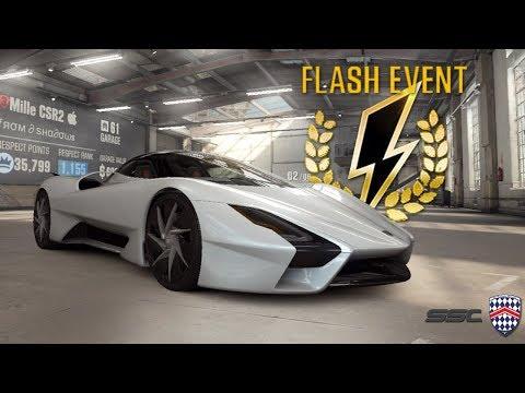 CSR Racing 2 | SSC Tuatara Flash Event - Fastest Car In Game sub 7 sec! Is it worth it?