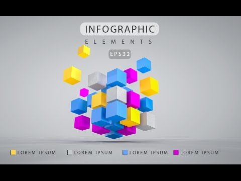 Infographic Tutorial infographic tutorial illustrator logo tutorial : 3D Graphic Design Infographic | Photoshop Cinema 4D C4D Tutorial ...